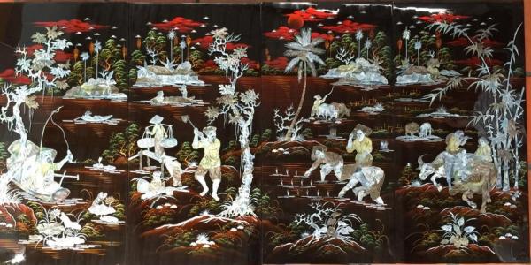 An original art of Vietnam
